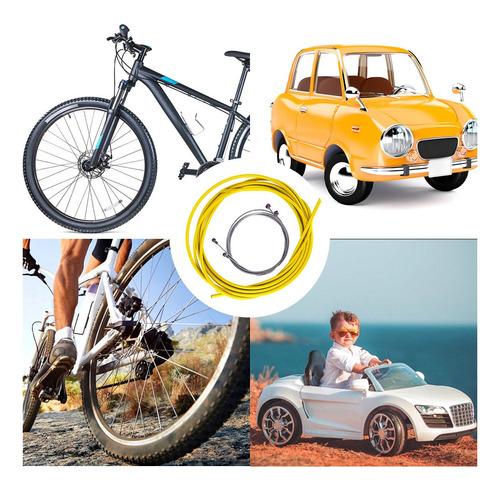 Juego de Carcasa de Cable de Cambio de Freno de Bicicleta Kits de Tubo de l/ínea de Freno Accesorios de Ciclismo WolfGo Tubo de Cable de Freno
