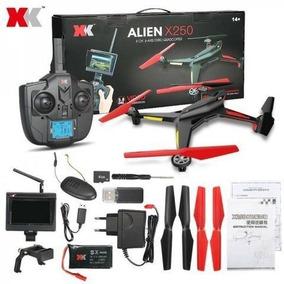 Drone Alien X250a Xk Câmera 2mp Tela Fpv 5.8g Ao Vivo