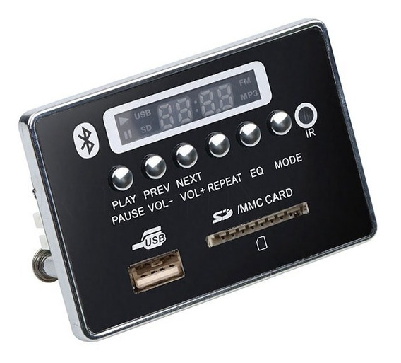 Decodificador Decoder Mp3 Usb Caixa Ativa Bluetooth 12 V Top