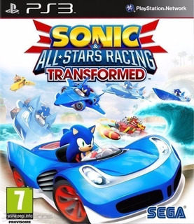 Sonic & All-stars Racing Transformed + Dlc ~ Ps3 Digital
