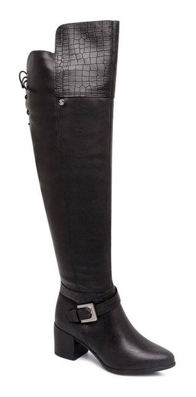 Bota Feminina Bottero Over The Knee - Preto 300604