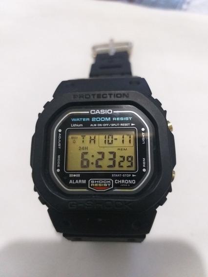 Casio Gshock Dw5600 Anos 1980 Conservado