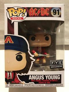 Funko Pop Rock Angus Young Ac/dc Numero 91