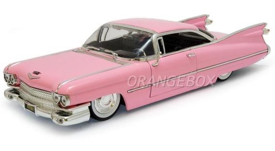 Cadillac Coupe De Ville 1959 1:24 Jada Toys 96801-rosa