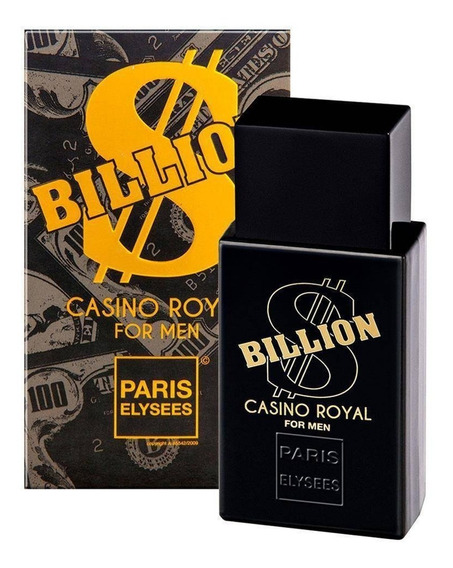 Perfume Billion Casino Royal 100ml - Paris Elysees