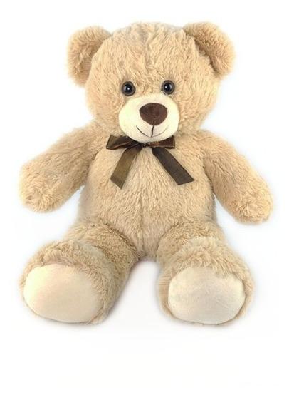 Urso De Pelúcia 45cm Bege