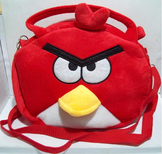 Bolsito Tersiopelo Angry Birds Bolso