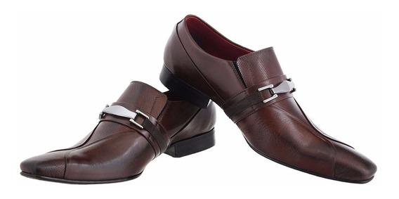 Sapato Social Tradicional Italiano Perfurado 444