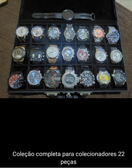 Coleção Completa De Relógios Para Colecionadores