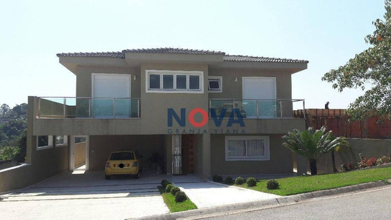 Casa Com 5 Dormitórios À Venda, 560 M² Por R$ 1.450.000 - Reserva Santa Maria - Jandira/sp - Ca1811