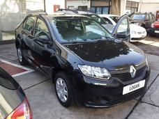 (hp) Renault Logan Negro 0km A/a Direccion Levanta Cristales