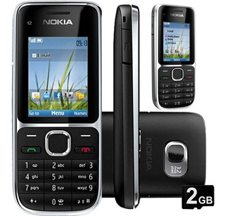 Nokia C2 01 3 G Nacional.novo.caixa Lacrada.
