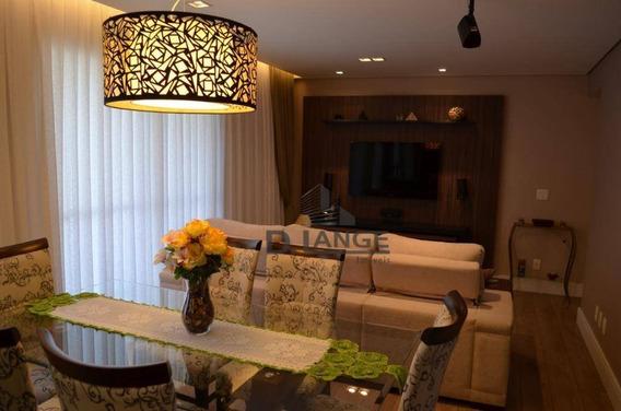 Apartamento À Venda, 90 M² Por R$ 640.000,00 - Parque Prado - Campinas/sp - Ap14325