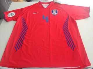 Camisa Coreia Do Sul Copa 2006 - Camisa Oficial Jogo - Home