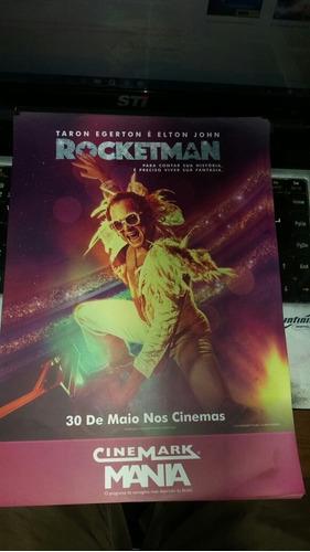Rocketman (mini Postêr Cinemark Mania) Frete Incluso