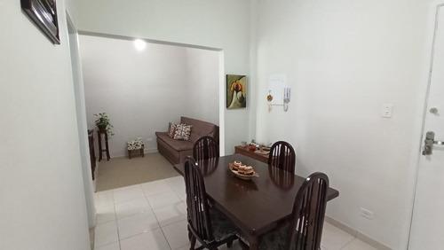 Apartamento Com 1 Dormitório À Venda, 50 M² Por R$ 190.000,00 - Boa Vista - São Vicente/sp - Ap5502