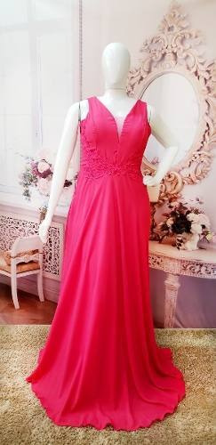 Vestido Festa Pink - Formatura, Madrinha, Casamento Lindo