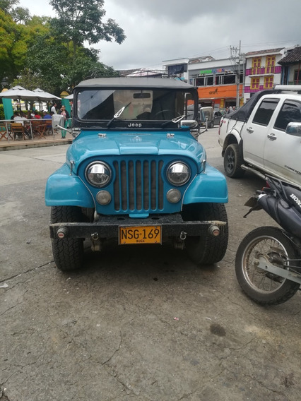 Jeep Cj Campero 2019