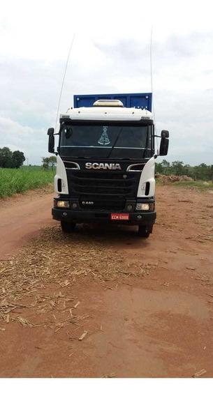 Scania G 440 6x4 2013 Traçado Semi Automatica R$ 190.000.