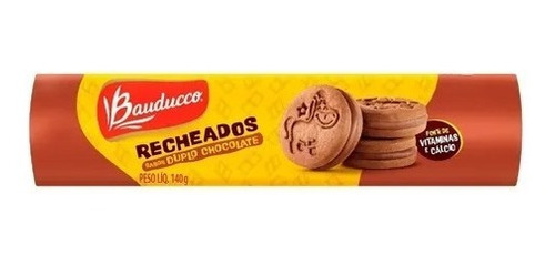 Imagem 1 de 1 de Biscoito Recheados Duplo Chocolate Bauducco 140g