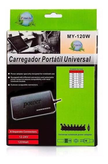 10x Fonte Carregador Universal Notebook Laptop Cce Positivo