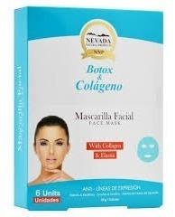 Mascarilla Facial Enriquecida Con Colageno Hidrolizado