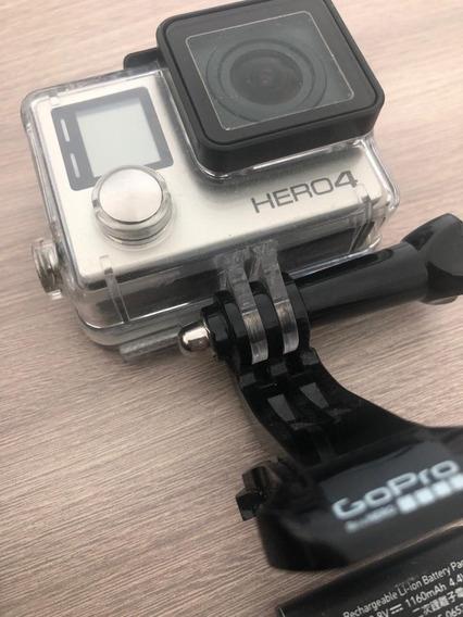 Gopro Hero 4 + 2 Baterias + Cartão 32gb - Excelente Estado!