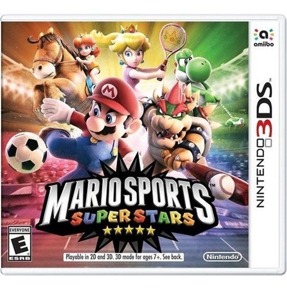 Mario Sports Superstar 3ds Mídia Física