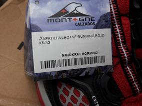 Zapatilla Lhotse Running Rojo Xs /42