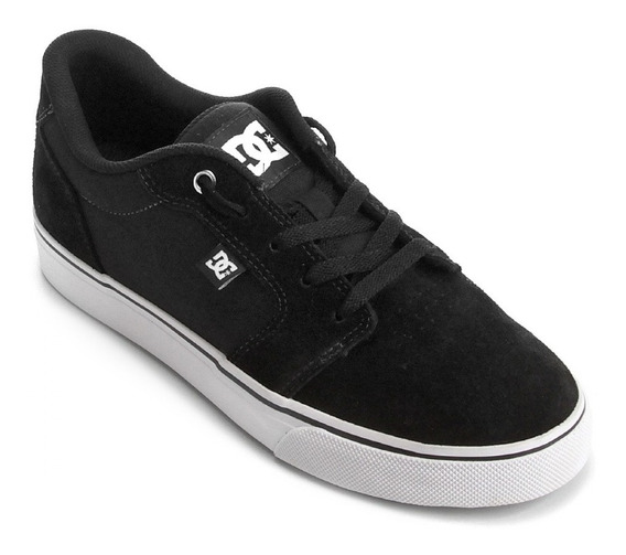 Tênis Dc Shoes Anvil La Preto Masculino Adys300200r