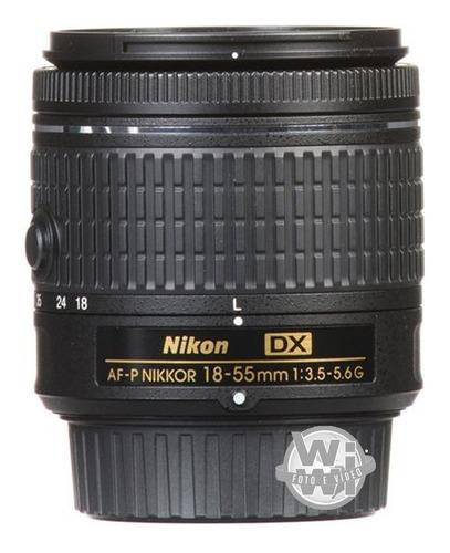 Lente Nikkor Af-p 18-55mm F:3.5-5.6g Dx (usada)