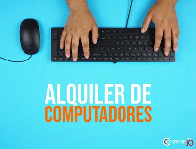 Alquiler De Computadores De Escritorio Y Portátiles
