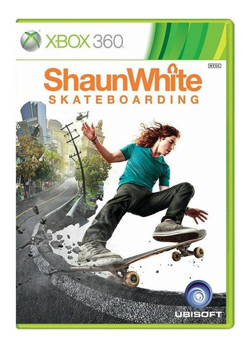 Shaun White Skateboarding - Xbox 360 - Usado - Original