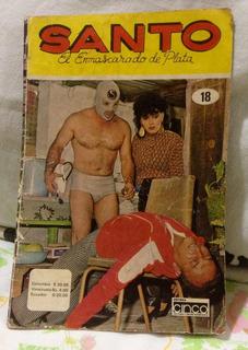 Fascículo #18 De 1986, El Santo El Enmascarado De Plata