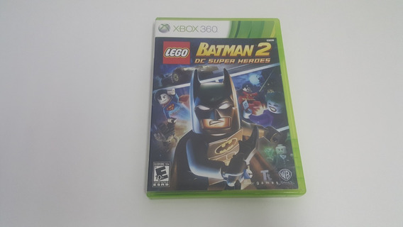 Lego Batman 2 Dc Super Heroes - Xbox 360 - Original - Usado