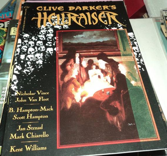Clive Baker Hellraiser Scott Hampton Jj Muth John Van Fleet