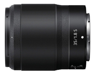 Nikon Lente 35mm F/1.8 Montura Z Negro Nuevo Caja Abierta