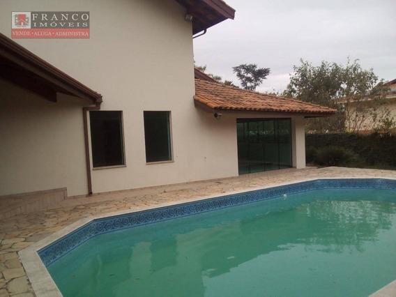 Casa Com 4 Dormitórios À Venda, 256 M² Por R$ 1.055.000,00 - Parque Terranova - Valinhos/sp - Ca0270
