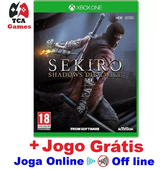 Sekiro Shadows Die Twice Xbox One Digital + 1 Jogo Grátis