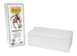 Caja 4 Compartimientos Dragon Shield Blanca