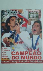 Revista Goool 124 + Super Poster S.c. Internacional Campeao