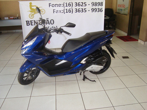 Imagem 1 de 9 de Honda Pcx 150 Azul 2020