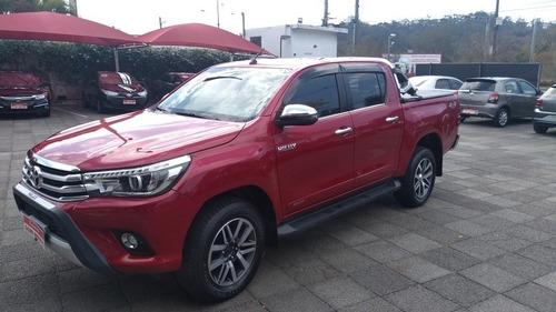 Imagem 1 de 12 de Toyota Hilux 2018 2.8 Tdi Srx Cab. Dupla 4x4 Aut. 4p