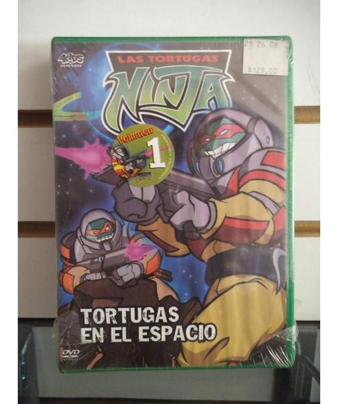 Las Tortugas Ninja Tortugas En El Espacio Volumen 1 Dvd