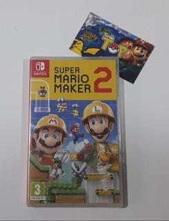Nintendo Switch Mario Maker 2 Nuevo Sellado - Tiendatopmk