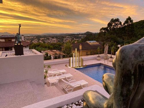 Imagem 1 de 20 de Casa Com 6 Suítes À Venda, 700m² Por R$ 4.500.000 - Alphaville 8 - Santana De Parnaíba/sp - Ca1277