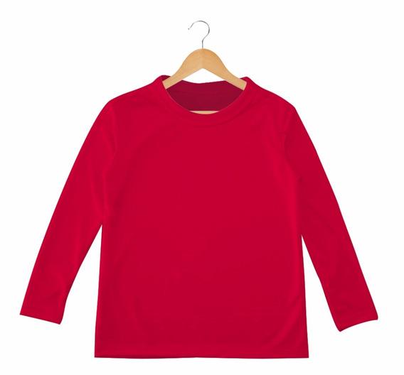 Camiseta Lycra Mangas Largas Niños Buso Deportivo