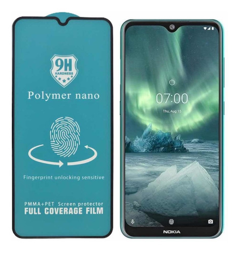 Imagen 1 de 5 de Vidrio Cerámica Polymer Nano Nokia 7.2