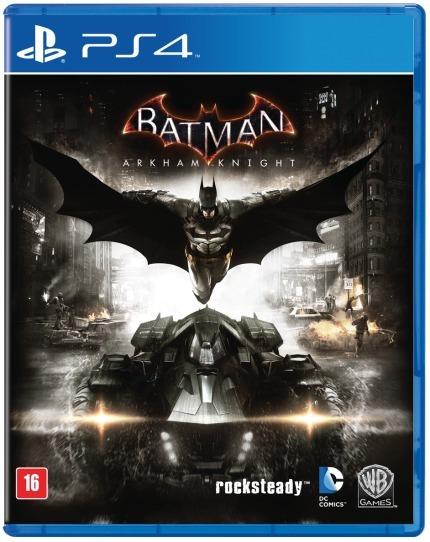 Batman Arkham Knight (mídia Física Em Portugues) - Ps4