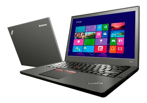 Notebook Lenovo X250 I5 5ª Ger. Ram 8gb Hd Ssd 240gb